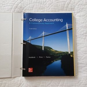College Accounting Fourth Edition